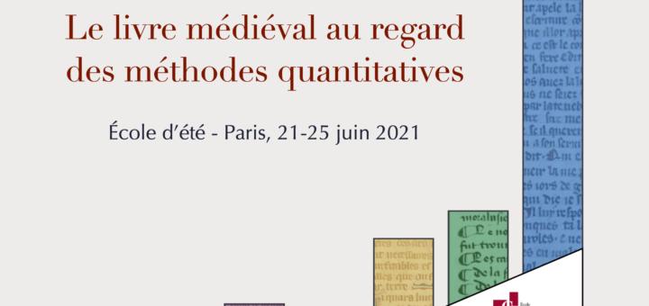 Titre Le livre médiéval au regard des méthodes quantitatives